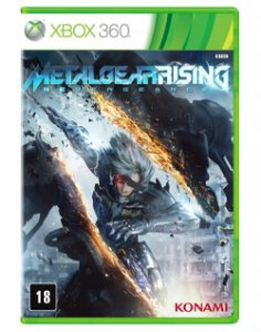Metal Gear Rising: Revegeance - Xbox 360 (usado)