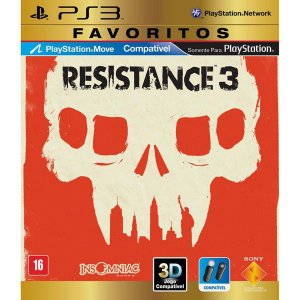 Resistance 3: Favoritos - PS3 (usado)