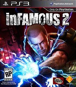 Infamous 2 - PS3 (usado)
