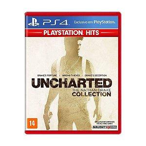 Uncharted: The Nathan Drake Collection Hits - PS4 (usado)