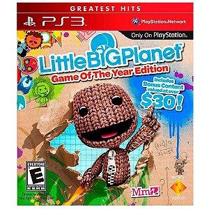 Little Big Planet - PS3 (usado)