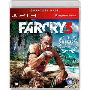 Far Cry 3 Hits - PS3 (usado)