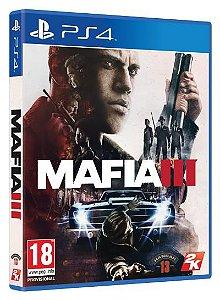 Mafia III Europeu - PS4 (usado)