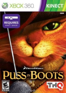 Puss in Boots: Kinect - Xbox 360 (usado)