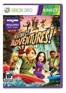 Kinect Adventures - Xbox 360 (usado)