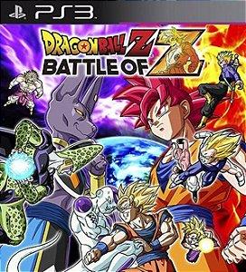 Dragon Ball Z: Battle of Z - PS3 (usado)
