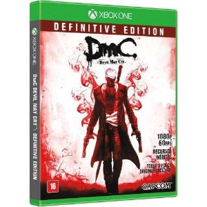 DMC Devil May Cry: Definitive Edition - Xbox One (usado)