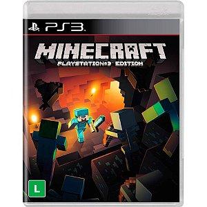 Minecraft: Playstation 3 Edition - PS3 (usado)