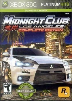 X360 Midnight Club Los Angeles - Complete Edition (usado)