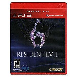 Resident Evil 6 Hits - PS3 (usado)