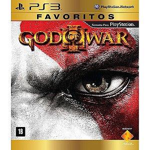 God of War 3 Favoritos - PS3 (usado)