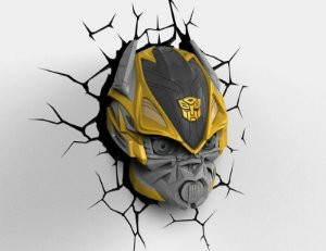 Luminaria Bumblebee: Transformers - 3D Light FX