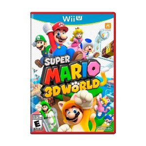 Super Mario 3D World Cx Vermelha - Wii U (usado)