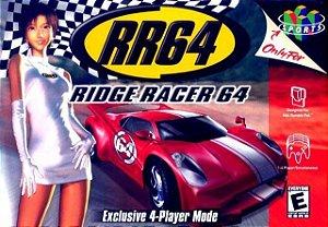 N64 Ridge Racer 64 (usado)