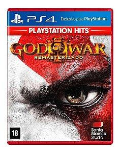 God of War 3: Remasterizado Hits - PS4 (usado)