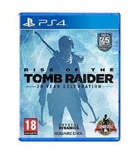 Rise of The Tomb Raider: 20 Year Celebration Europeu - PS4 (usado)