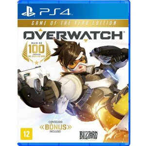 Overwatch: Game of The Year Edition - PS4 (usado)