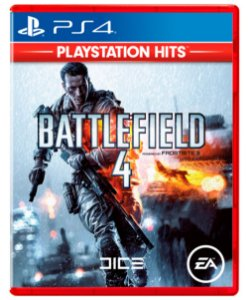 Battlefield 4 Hits - PS4 (usado)