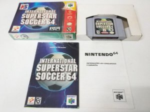 International Superstar Soccer 64 Completo - N64 (usado)