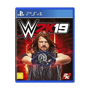 WWE 2K19 - PS4 (usado)