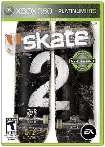 Skate 2 Hits - Xbox 360 (usado)