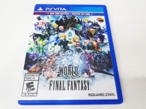 World of Final Fantasy - PS Vita (usado)