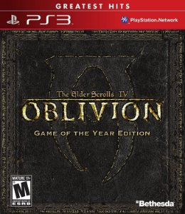 The Elder Scrolls IV: Oblivion Goty Edition Hits - PS3 (usado)