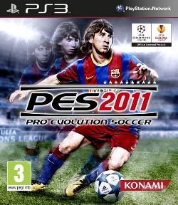 PES 2011: Pro Evolution Soccer - PS3 (usado)