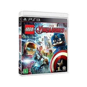 PS3 Lego Marvel - Vingadores