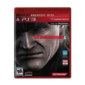 Metal Gear Solid 4: Guns of The Patriots Hits - PS3 (usado)
