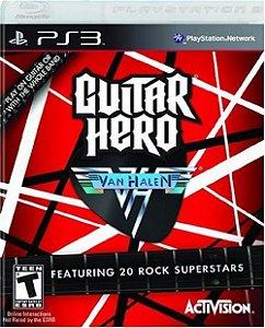 Guitar Hero: Van Halen - PS3 (usado)