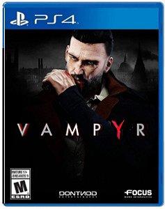Vampyr - PS4 (usado)