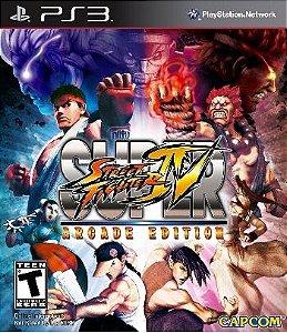 Super Street Fighter IV: Arcade Edition - PS3 (usado)
