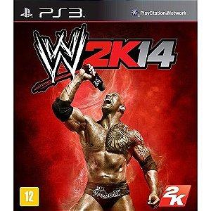 WWE 2K14 - PS3 (usado)