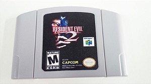 Resident evil 2 - N64 Relabel (usado)