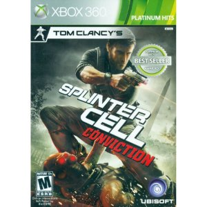 Splinter Cell: Conviction - Xbox 360 (usado)