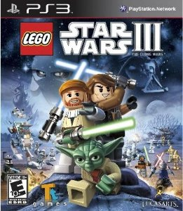 Lego Star Wars 3: The Clone Wars - PS3 (usado)