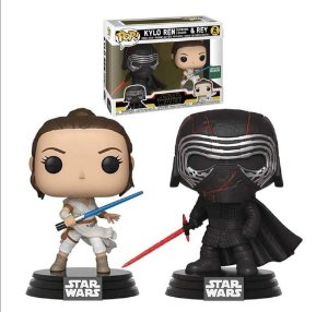 Kylo Ren Supreme Leader e Rey: Star Wars - Funko POP 307/308