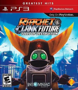 Ratchet e Clank Future: Tools of Destruction Hits - PS3 (usado)
