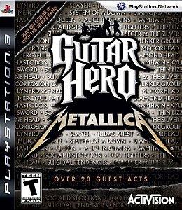 GUITAR HERO METALLICA USADO (PS3)