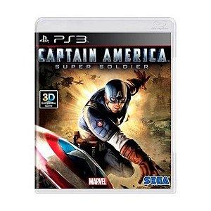 Captain America: Super Soldier - PS3 (usado)