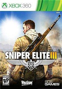 X360 Sniper Elite 3 (usado)