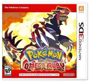 3DS Pokemon - Omega Ruby