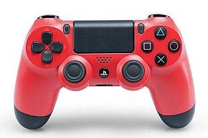 Controle PS4 DualShock 4 Vermelho CUH-ZCT2U
