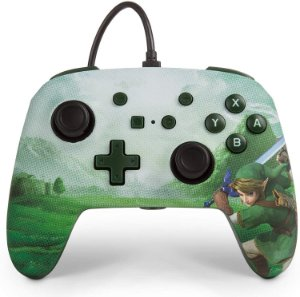 Controle Switch Link Hyrule Power A C/ Fio