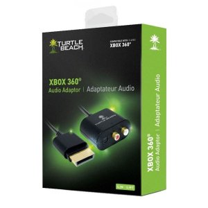 Adaptador Audio Turtle Beach Xbox 360