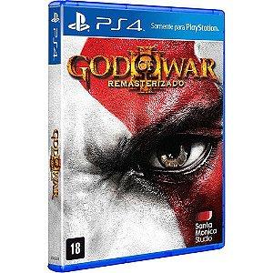 God of War 3: Remasterizado - PS4 (usado)
