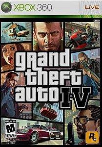 GTA 4 - Xbox 360 (usado)