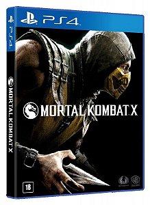 Mortal Kombat X - PS4 (usado)