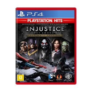Injustice Gods Among US: Ultimate Edition Hits - PS4 (usado)